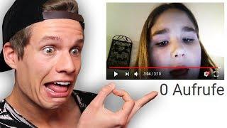 YouTube Videos mit 0 Aufrufen