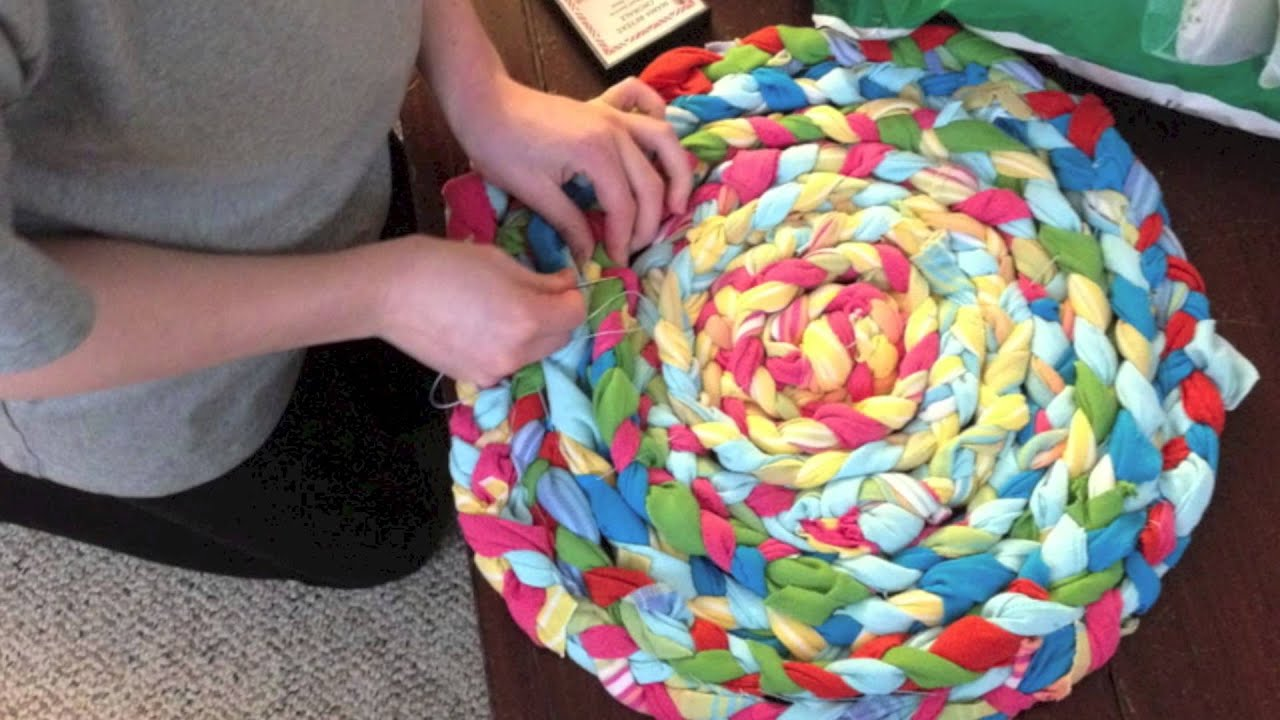 Making A Braided Rug
