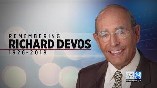 Rich DeVos, Amway co-founder and philanthropist, dies