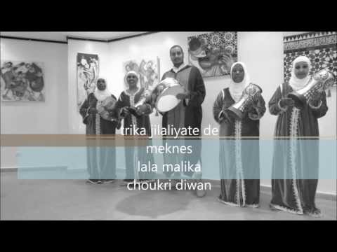 TARIKA JILALIYATES DE MEKNES MUSIC SOUFIE FEMININE MALIKA JILALIYA