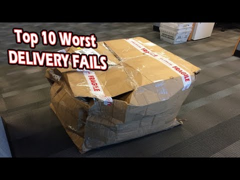 Top 10 Worst DELIVERY FAILS Caught On Camera! Bad Mailmen & Funny Mistakes