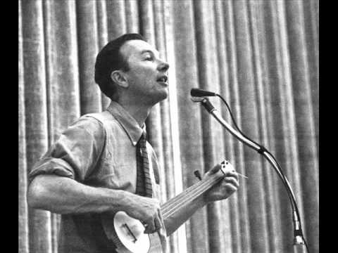 Pete Seeger-Where Have all the Flowers Gone