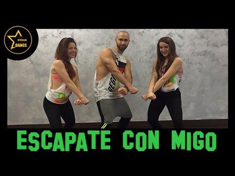 ESCAPATE CON MIGO Wisin - ft. Ozuna |coreografia | zumba | ANDREA STELLA CHOREO DANCE