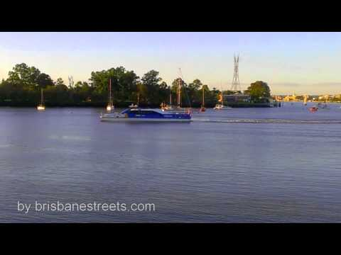 Brisbane City Cat public water transport in Brisbane
