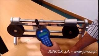 Optibelt TT3 - Demonstração(Demonstração de medição de tensão de correias, com o dispositivo Optibelt TT3. www.juncor.pt., 2014-07-29T08:56:41.000Z)