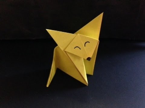 巽属臓奪?? 脱??達??巽卒? 達?足達??達?? origami fox - YouTube