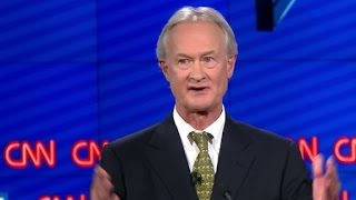 Lincoln Chafee drops out of Democratic primary race
