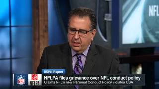 NFLPA Files Grievance Over NFL Conduct Policy