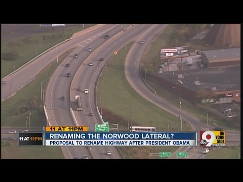 Up for vote: 'Barack Obama Norwood Lateral Hwy.'