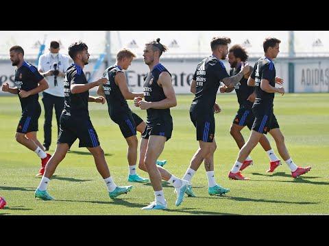 Real Madrid Training 24 Jul: Intense workouts, finishing drills Bale,Varane, Modric & Kroos are back