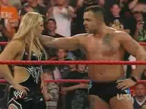 Raw 7/21/08 Beth & Santino Kiss