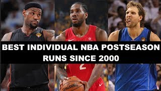 The 10 Greatest Individual NBA Playoff Runs Since 2000: Where Does 2019 Kawhi Leonard Rank?