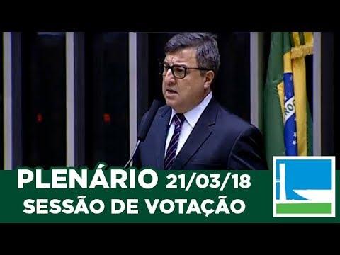 PLENÁRIO - Sessão Deliberativa - 21/03/2018 - 17:39