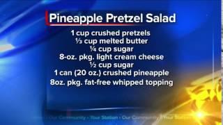 What's For Dinner: Pineapple Pretzel Salad