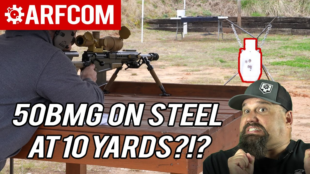 [THE GATHERING] Are you crazy?!? 50BMG on Steel at 10 Yards?!? w/ NP Technology