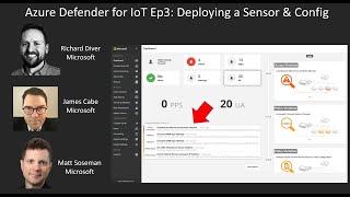 Azure Defender For  OT Ep3 Deploying A Offline Sensor \u0026 Config