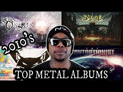 Top METAL Albums Of The Decade | 2010's