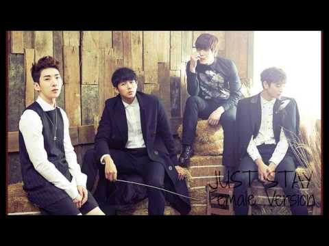 2AM - Just Stay [Female Version]