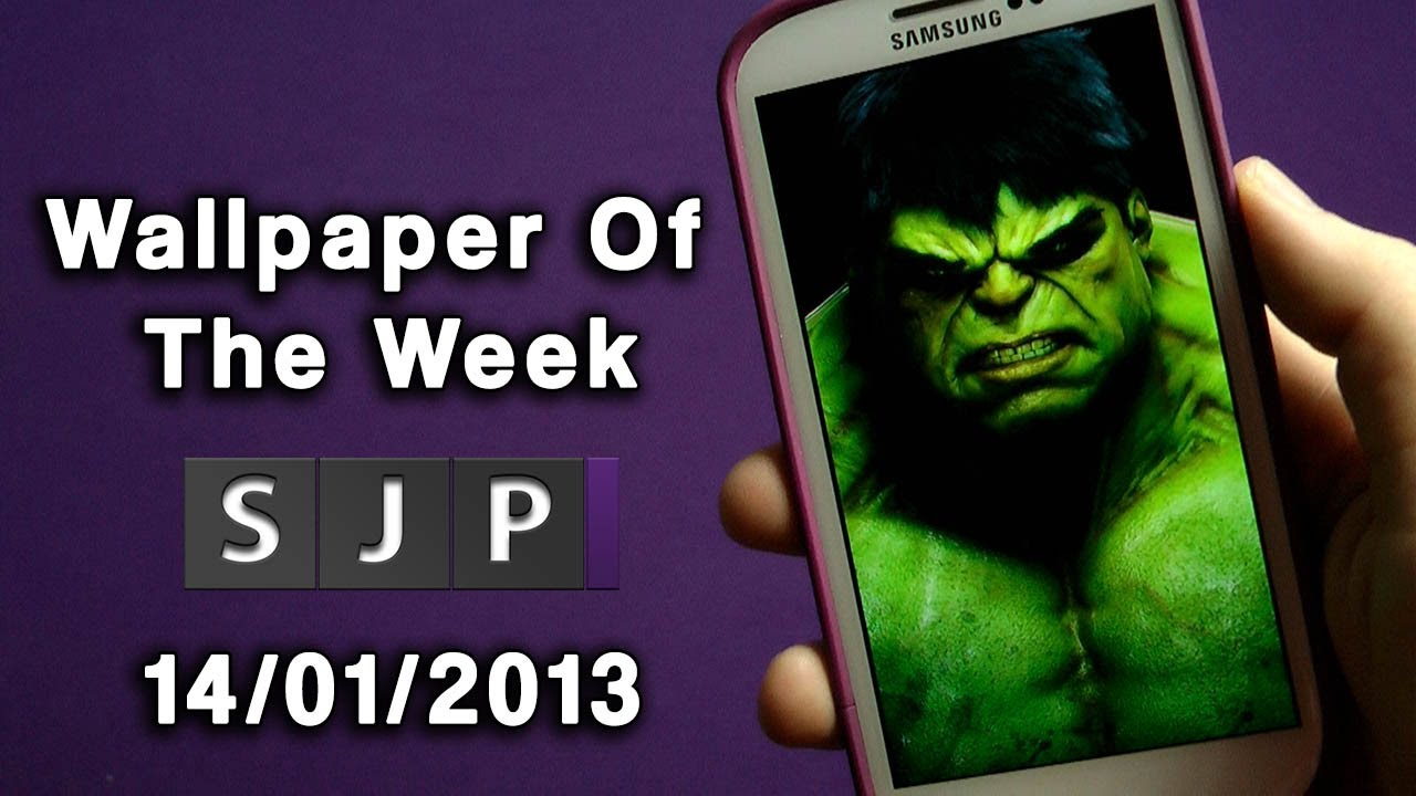 hulk wallpaper of the week 14 01 13 youtube