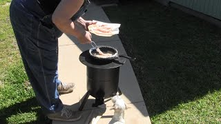 rocket stove cooking