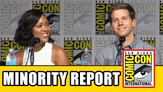 Minority Report Comic Con Panel - Meagan Good, Stark Sands