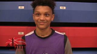 Capitol Hoops Play of the Day - Gonzaga 2020 G Carlos Hubb Buzzer-Beater Sinks Gtown Prep 6/26/17