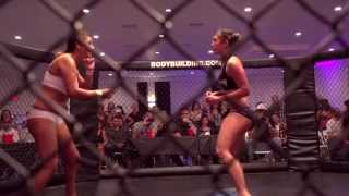 B.L.O.W. Match 1:  Karen vs.  Veronica