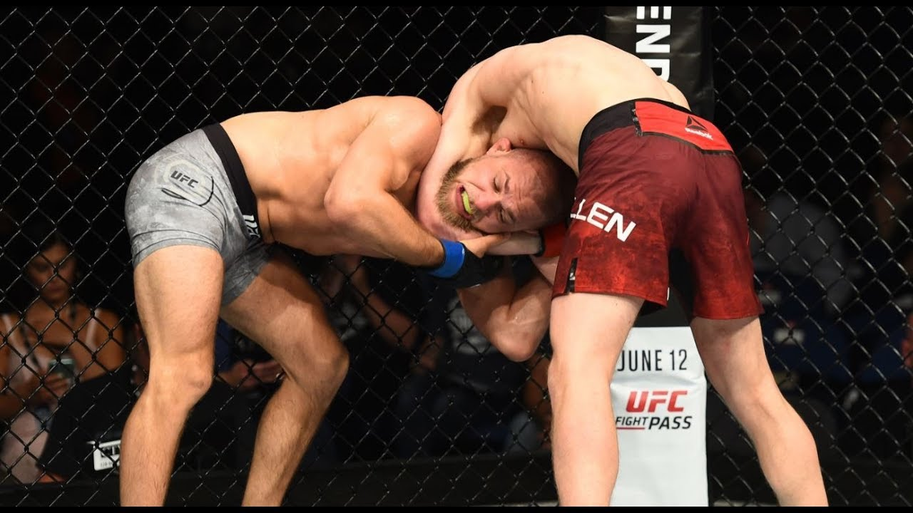 Top Finishes from UFC Raleigh Fighters
