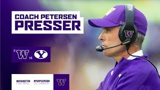 Football: Chris Petersen Weekly Press Conference (09.16.19)