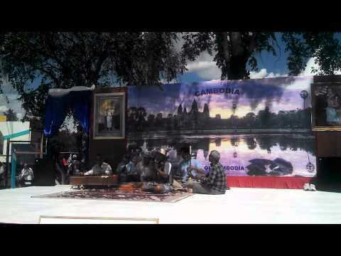 Azerbaijan food pavilion & Cambodian music Performance