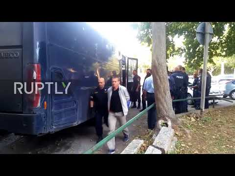 Greece: Russian bitcoin fraud suspect arrives for extradition hearing