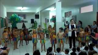 Apresentação - Dia do Índio - Colégio Nossa Senhora Medianeira