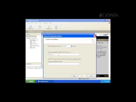 Cấu hình gửi và nhận mail bằng Outlook Express