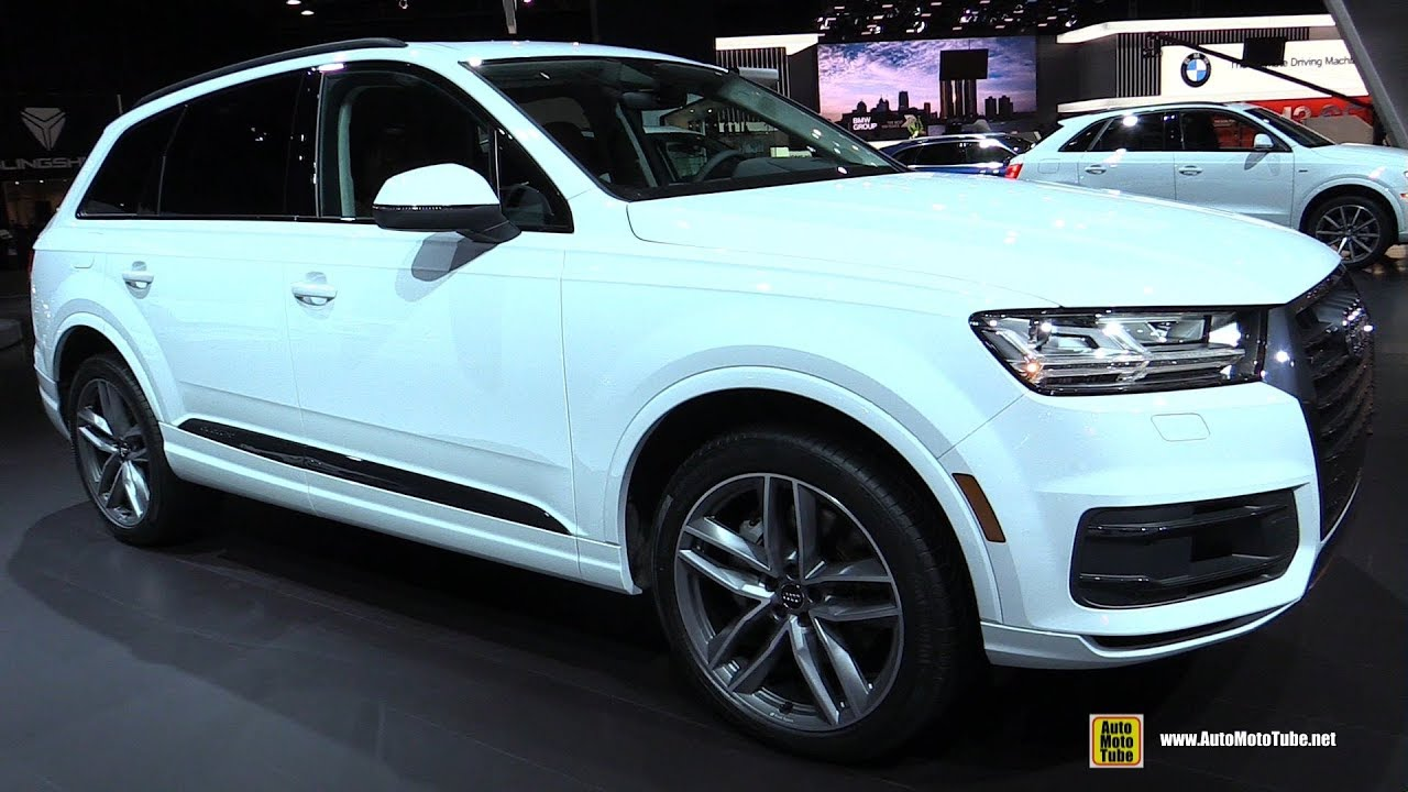 2018 Audi Q7 3 0t Quattro Exterior And Interior Walkaround 2018 Detroit Auto Show Youtube