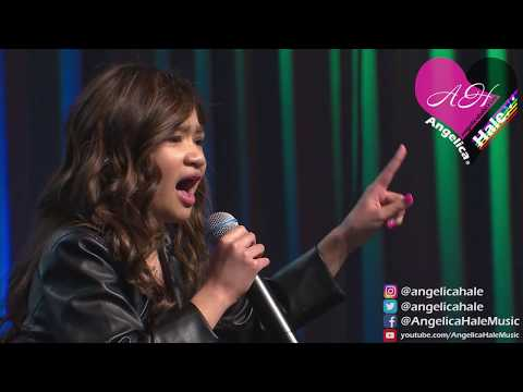"""Angelica Hale Singing """"Girl on Fire"""" - 2018 Chicago Fresenius Conference"""