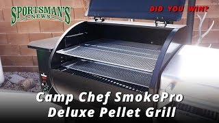 Baixar Pro Member Drawing for Camp Chef SmokePro Deluxe Pellet Grill with Accessories