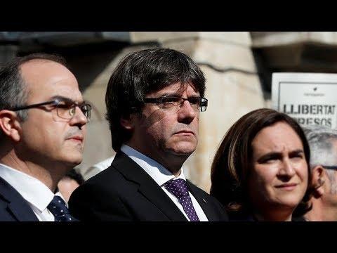 """Puigdemont: """"Rajoy ha lanzado el peor ataque contra los catalanes desde Franco"""""""