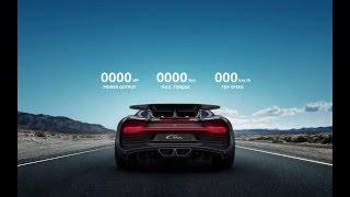 La Bugatti Chiron ronronne