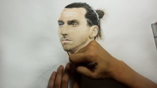 Drawing Zlatan Ibrahimovic