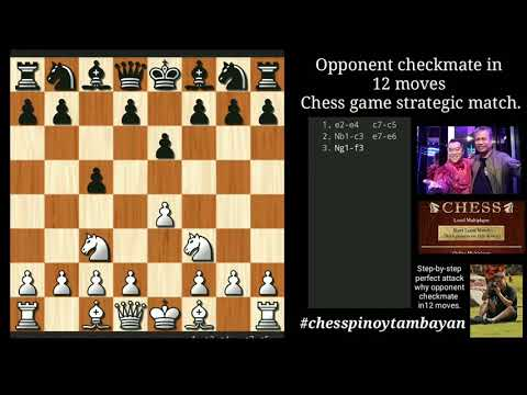 Opponent Checkmate In 12 Moves