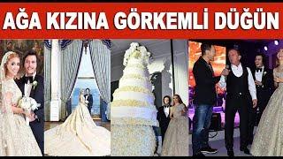Ali Ağaoğlu'nun kızının düğününde görülmemiş abartı