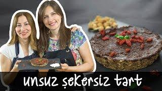 Unsuz Şekersiz Tart nasıl yapılır?   Merlin Mutfakta Yemek Tarifleri
