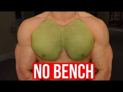 Tips to get a Big Chest Without the flat bench press