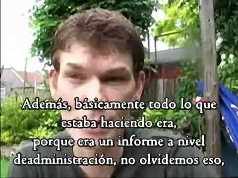 Gary McKinnon en español ( 1 de 6 ) -