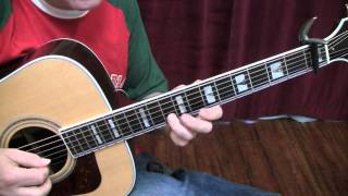Folsom Prison Blues Guitar Lesson by Shawn Fleming