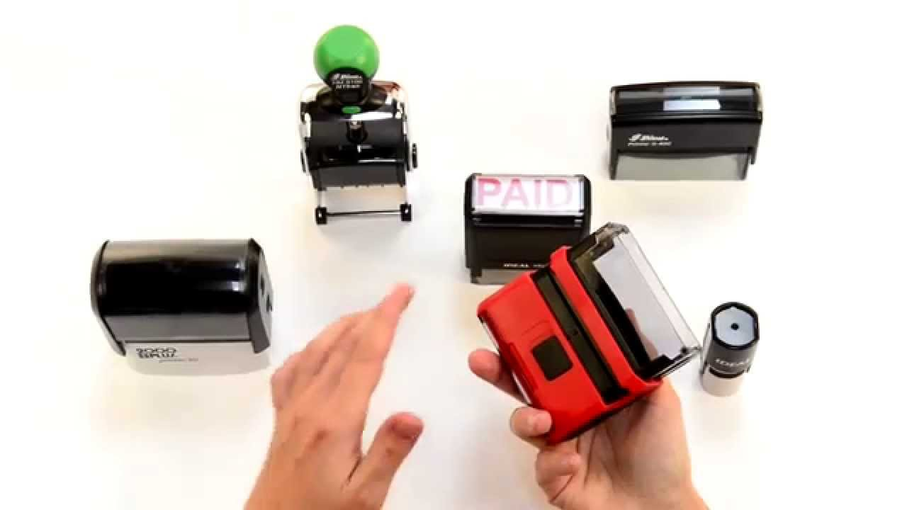 How To Re Ink A Self Inking Rubber Stamp