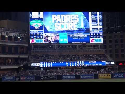 San Diego Padres vs Colorado Rockies (Padres Score!)