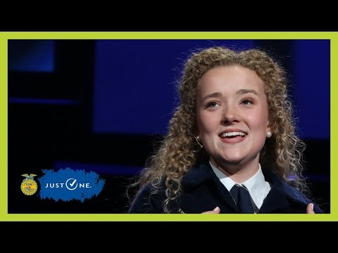 Gracie Furnish Retiring Address | 2018 National FFA Convention & Expo