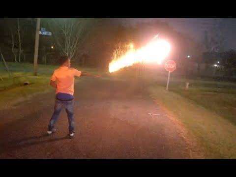 FIREWORK WAR ENDING 2017!!! *GetsLIT!!