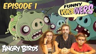 Angry Birds - Funny Voice Overs | Halloween - S1 Ep1 #BadLipSync